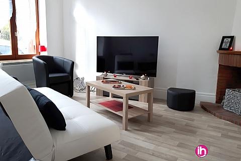 Location pour salarié en déplacement de meublé : Maison de type T4 en plein cœur de GIEN, à environ 10 min de Dampierre et 30 mm de Belleville