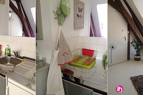 Location pour salarié en déplacement de meublé : Très beau studio meublé entre Belleville et Dampierre