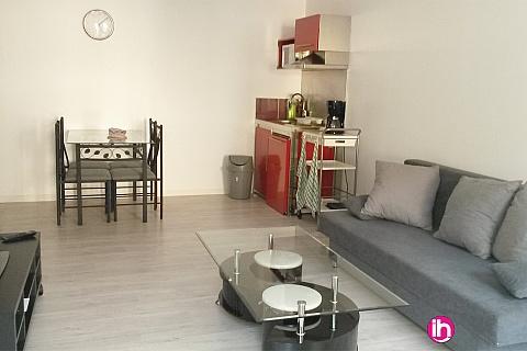 Location pour salarié en déplacement de meublé : Appartement meublé F2 à 4km de Belleville