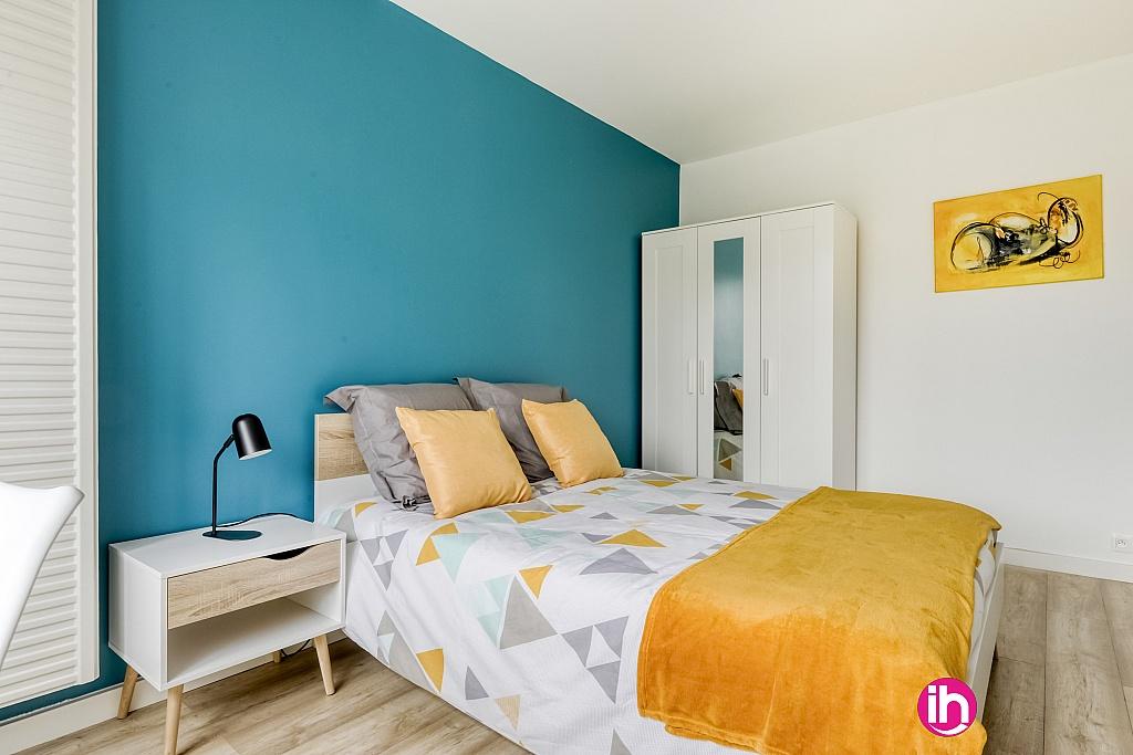chambre bleue lumineuse 13 m2