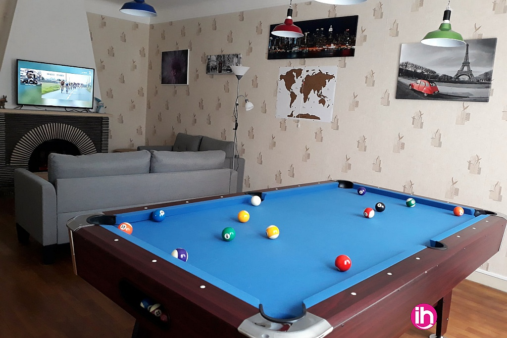 Billiard dans le salon
