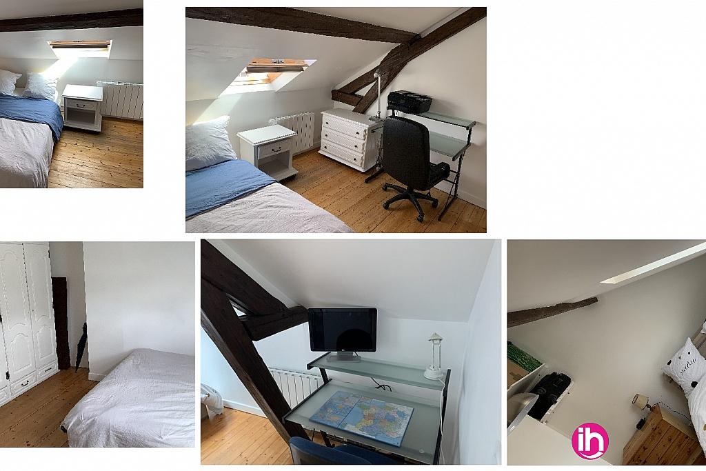 les 2 chambres avec bureau