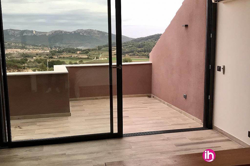 Vue suite parentale et terrasse