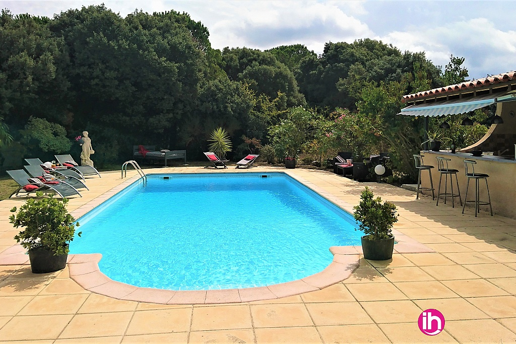 Piscine sécurisé 11x5 - Pool house