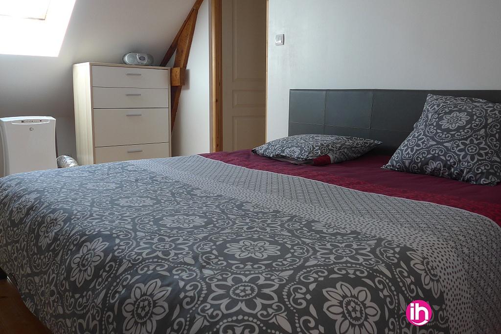 Chambre avec lit en 180 et SDB/WC