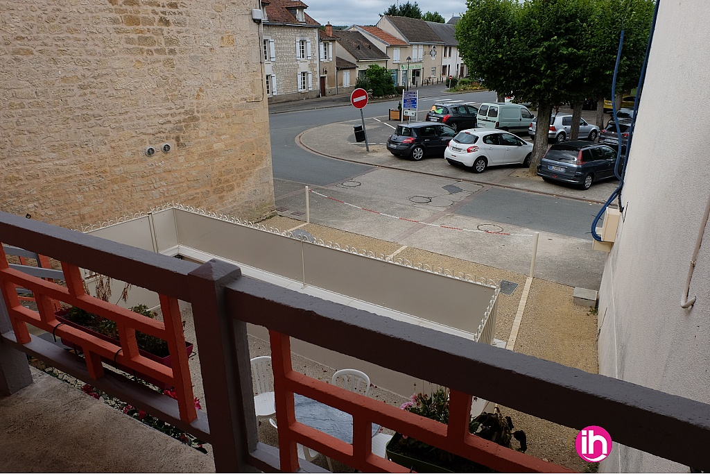 Parking vue du balcon