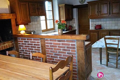 Location pour salarié en déplacement de meublé : DAMPIERRE BELLEVILLE Ferme meublée tout confort  à 20 min de Dampierre