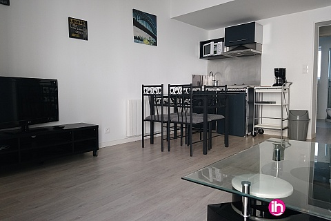Location pour salarié en déplacement de meublé : LERE appartement T2 à 4kms du CNPE Belleville LOG 2