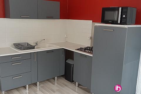 Location pour salarié en déplacement de meublé : BOURGES centre Appartement cosy avec terrasse