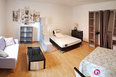 Location pour salarié en déplacement de meublé : KNUTANGE - Studio meublé de 30m2 - RDC