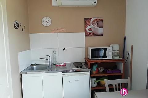 Location de meublé : Petit Studio tout confort proche Cruas /Tricastin N° 2