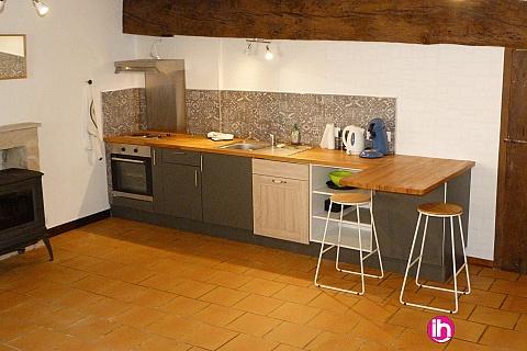 Location pour salarié en déplacement de meublé : CIVAUX studio équipé centre ville Montmorillon