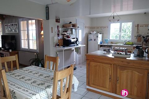 Location de meublé : GIEN GRANDE MAISON 5 CHAMBRES CH 5-6