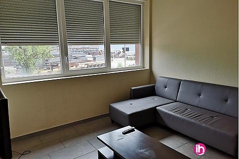 Location pour salarié en déplacement de meublé : CATTENOM Location d'un t2 N°7 tout confort à Serémange-Ezrange