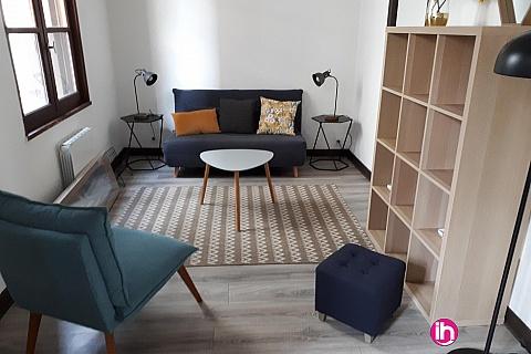 Location pour salarié en déplacement de meublé : TOURS Appartement charmant plein coeur de ville