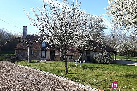Location pour salarié en déplacement de meublé : DAMPIERRE Charmante maison à Chatillon-sur-loire