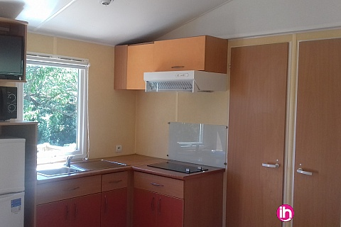 Location de meublé : TRICASTIN CRUAS, Mobil-home 3 chambres, climatisé, VIVIERS
