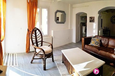 Location de meublé : MAISON DE VILLE 90M² A 7MN DE TRICASTIN POUR 2 A 3 PERSONNES