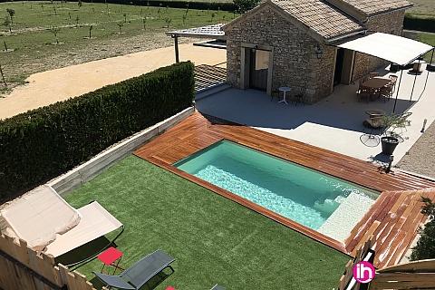 Location de meublé : Bagnols sur Céze mazet provençal