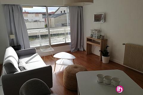Location de meublé : LIMOGES : Appartement T2 très lumineux hyper centre-ville