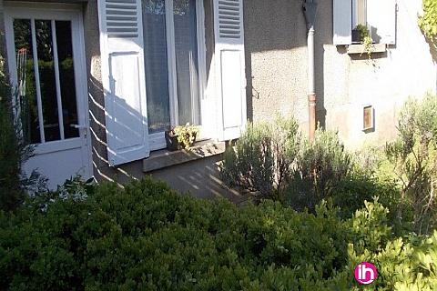 Location de meublé : LIMOGES : petite maison avec jardin