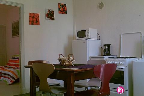 Location de meublé : LE TEIL Color: Agréable F2 spacieux et totalement équipé avec extérieur.