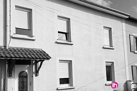 Location pour salarié en déplacement de meublé : Maison (1 à 8 personnes) à 10 min de Cattenom, du Luxembourg et de l'Allemagne.