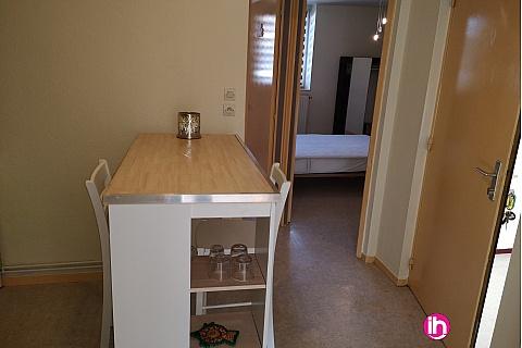 Location pour salarié en déplacement de meublé : jolie petit F2 au centre de KNUTANGE