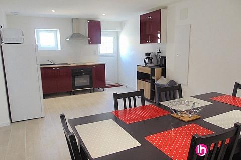 Location de meublé : CIVAUX, Maison proche Poitiers avec Jacuzzi en Option, Tercé