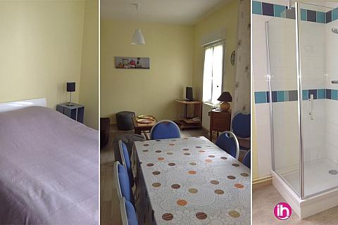 Location pour salarié en déplacement de meublé : CIVAUX CHAUVIGNY POITIERS F4 à moins de 20 min de Civaux