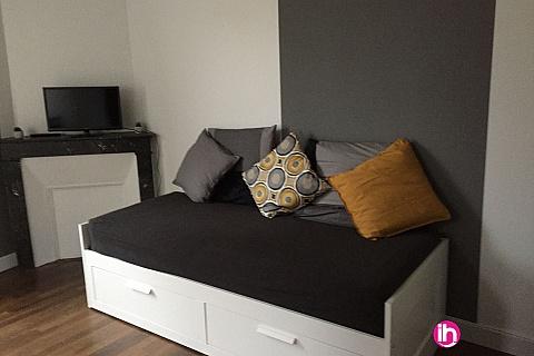 Location de meublé : BELLEVILLE Centre Ville Cosne sur loire Studio meublé