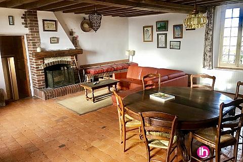 Location pour salarié en déplacement de meublé : Location  - Ferme typique des bords de Loire