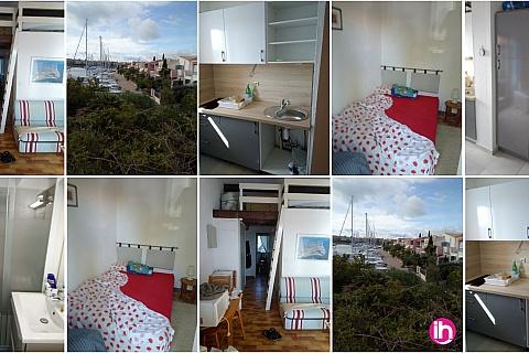 Location pour salarié en déplacement de meublé : Appartement avec vue sur La Marina