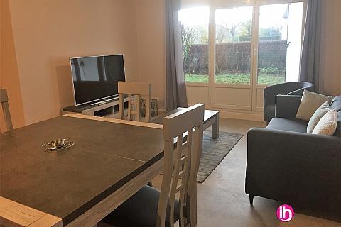 Location pour salarié en déplacement de meublé : GIEN maison trois chambres meublée et refaite a neuve