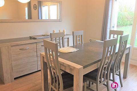 Location pour salarié en déplacement de meublé : OUZOUER SUR LOIRE  grande Maison  5 ch meublée et refaite à neuve