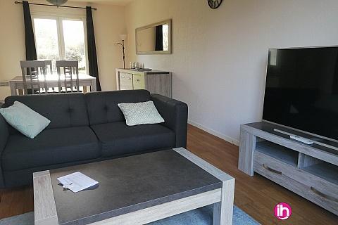 Location de meublé : BELLEVILLE SUR LOIRE: MAISON TOUTE EQUIPEE 3 chambres