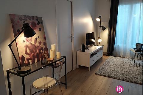Location pour salarié en déplacement de meublé : NANTERRE Ville hypercentre, Appartement T2 tout équipé 42m2