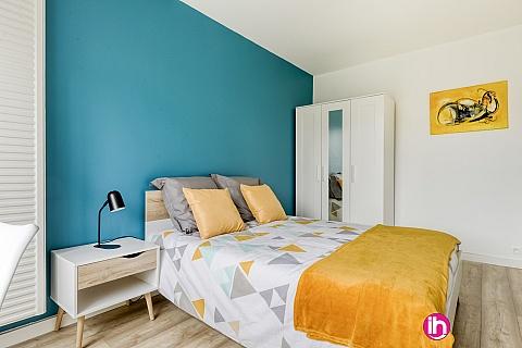 Location de meublé : CERGY PONTOISE Logement de 3 belles chambres proche du RER A et à 40mn de la Défense