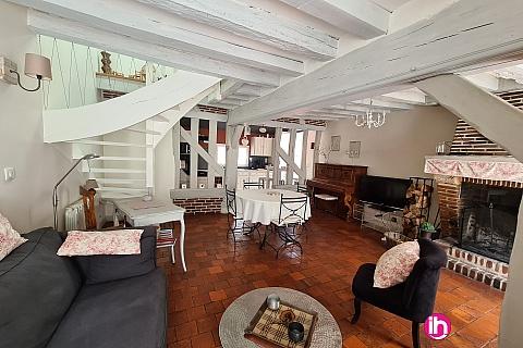 Location de meublé :  LE SULLY, maison solognote, proche Orléans - Grand jardin clôturé - 1 à 4 personnes