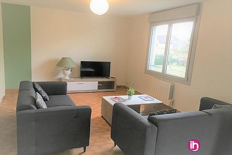 Location de meublé : BUGEY, Appartement T3 à  Lagnieu
