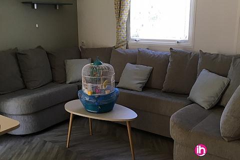 Location de meublé : SAINT ALBAN CONDRIEU mobilhome haut de gamme