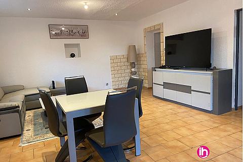 Location de meublé : Cruas TRICASTIN , Appartement T3 , Le Barrage