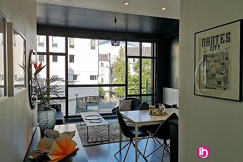 Location pour salarié en déplacement de meublé : Appartement centre ville de Nantes