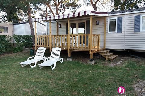 Location de meublé : BLOIS, Mobil-home, DOMAINE DE DUGNY TOUT CONFORT NEUF SIBLU 4 ETOILES
