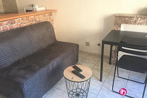 Location de meublé : DAMPIERRE, appartement N°2 T2 refait à neuf à Gien