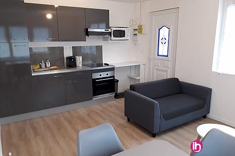 Location de meublé : GRAVELINES T2 rénové à BOURBOURG