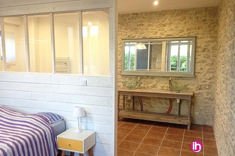 Location de meublé : Maison de charme avec suite parentale