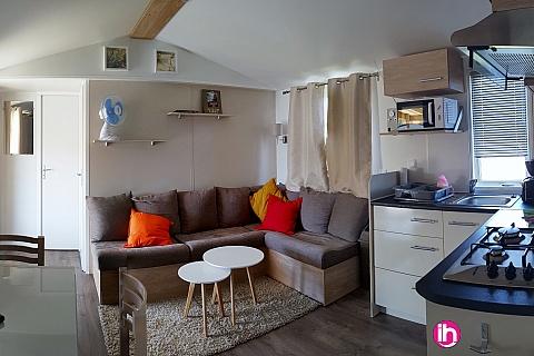 Location pour salarié en déplacement de meublé : BLOIS, mobile-home, DOMAINE DE DUGNY VILLAGE VACANCES SIBLU 4**** ONZAIN 41150