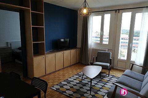 Location de meublé : LIMOGES, Appartement 3 chambres