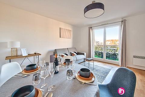 Location de meublé : MONTEVRAIN, Idéal Pro, Appartement 43 M2, Montévrain